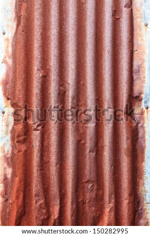 Rusted Metal Roof Texture Rusty corrugated galvanized