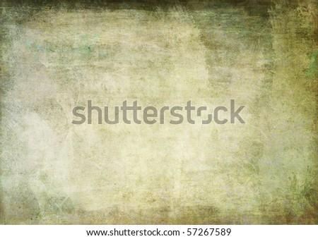 rusty green background - stock photo