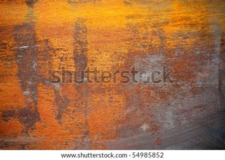 Rusty Grunge Metal Texture - stock photo