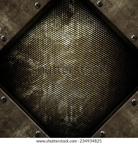 rusty iron background  - stock photo