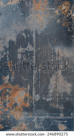 Rusty Iron Background - stock photo