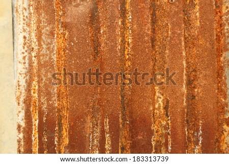 Rusty iron, Thailand.  - stock photo