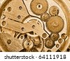 rusty mechanism - stock photo