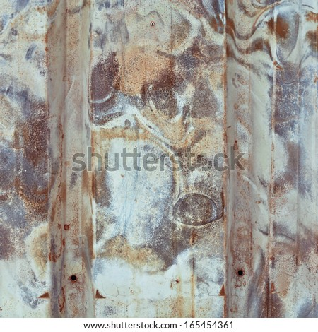Rusty metal as an abstract background image - stock photo