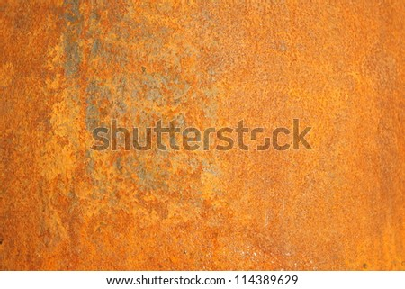 Rusty metal surface - stock photo