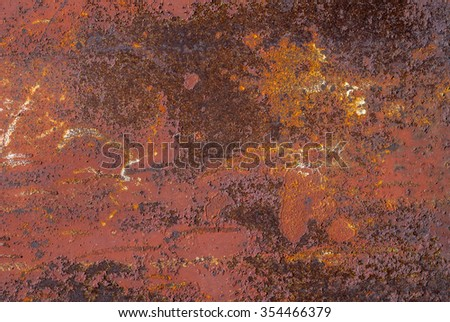 rusty metal surface texture background