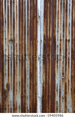 Rusty metal texture background - stock photo