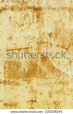 Rusty metallic surface - stock photo