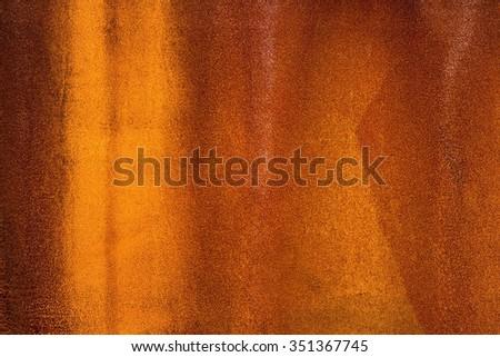 Rusty old wall - stock photo