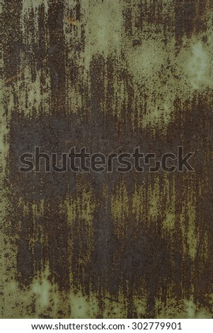 rusty scratched textured metal surface