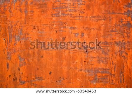 Rusty surface texture - stock photo