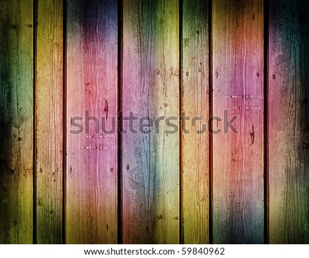 rusty vintage wooden planks background