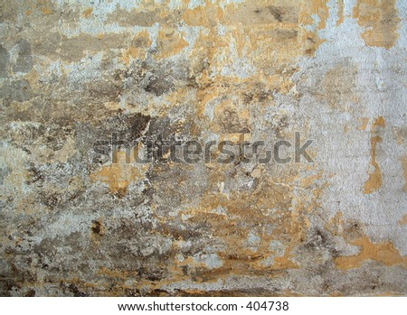 rusty wall texture - stock photo