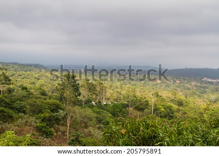 Ruta de las Flores near Juayua, El Salvador - stock photo