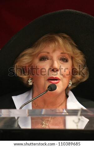 Ruta Lee  at the ceremony honoring Roger Moore with the 2,350th Star on the Hollywood Walk of Fame. Hollywood Boulevard, Hollywood, CA. 10-11-07 - stock photo