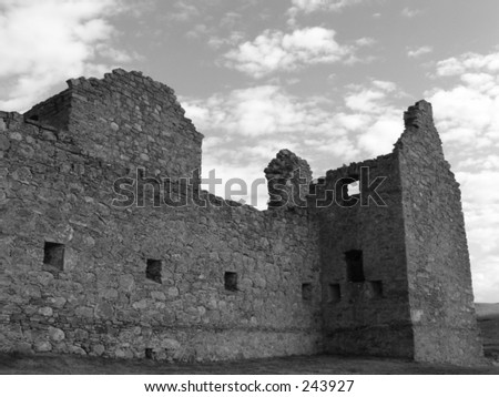ruthven barracks in scotland