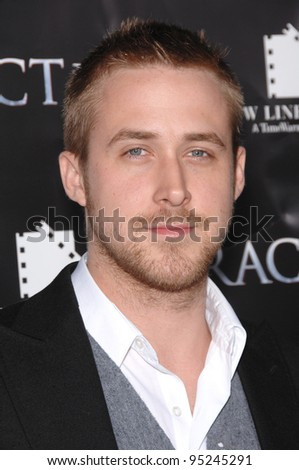 "Ryan Gosling at the Los Angeles premiere of ""Fracture"". April 12, 2007  Los Angeles, CA Picture: Paul Smith / Featureflash - stock photo"