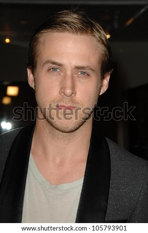 Ryan Gosling  at the Los Angeles Premiere of 'Sugar'. Pacific Design Center, West Hollywood, CA. 03-18-09 - stock photo