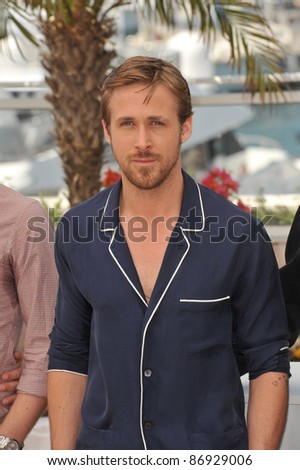 "Ryan Gosling at the photocall for his new movie ""Drive"" in competition at the 64th Festival de Cannes. May 20, 2011  Cannes, France Picture: Paul Smith / Featureflash - stock photo"