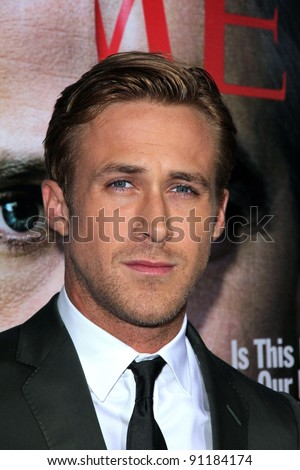 "Ryan Gosling at the ""The Ides Of March"" Los Angeles Premiere, Academy of Motion Picture Arts and Sciences, Beverly Hills, CA. 09-27-11 - stock photo"