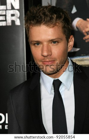 "Ryan Phillippe at ""The Lincoln Lawyer"" Los Angeles Screening, Arclight Theater, Hollywood, CA. 03-10-11"