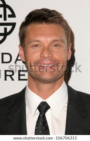 Ryan Seacrest  at the Fulfillment Fund's STARS 2008 Benefit Gala. Beverly Hilton Hotel, Beverly Hills, CA. 10-13-08