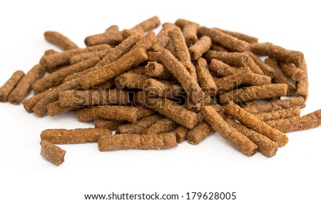 rye crackers on a white background