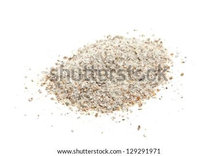 rye flour - stock photo