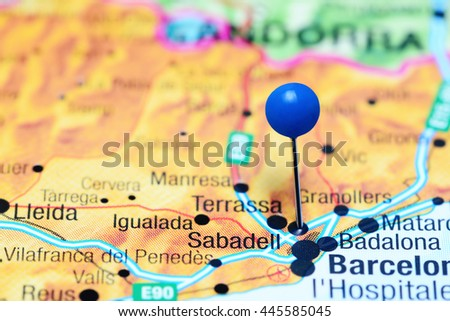 Gallur Pinned On Map Spain Stock Photo 443187154 Shutterstock