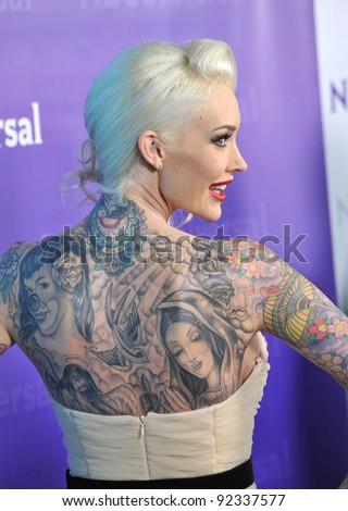 Sabina Kelly, star of Best Ink, at the NBC Universal Winter 2012 TCA party at The Athenaeum in Pasadena. January 6, 2012  Los Angeles, CA Picture: Paul Smith / Featureflash - stock photo