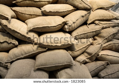 Sack - stock photo