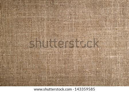 Sack texture - stock photo