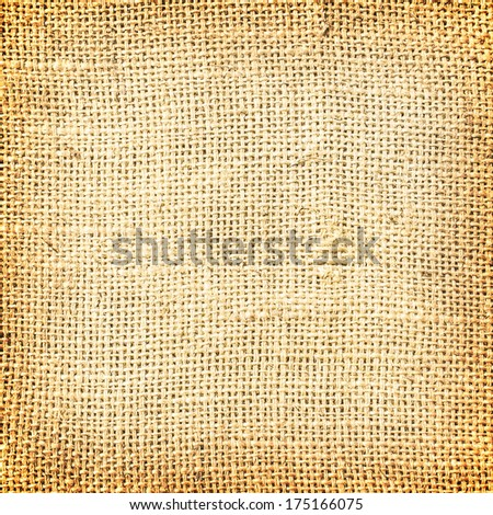 sackcloth brown textured background  - stock photo