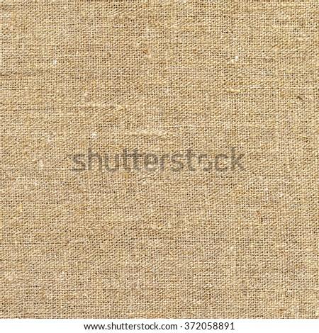 Sackcloth. Burlap vintage background, texture of canvas - stock photo