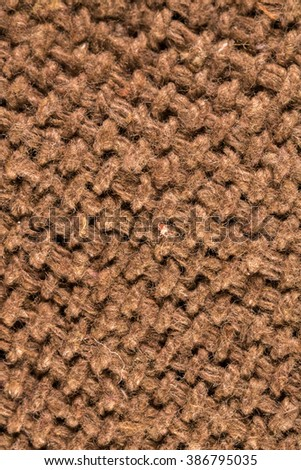 Sackcloth fabric texture Pattern Closeup