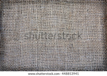 sackcloth textured for background - stock photo