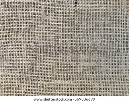 Sackcloth woven texture pattern background ,selective focus