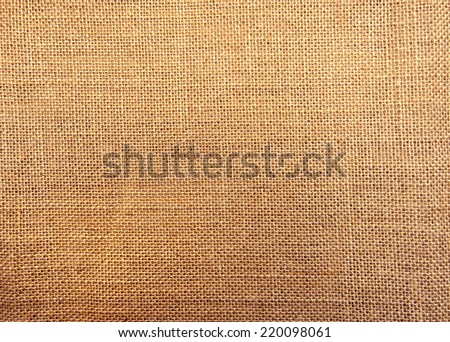 sacking texture - stock photo