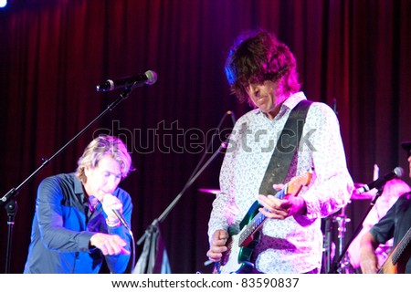SACRAMENTO, CA - AUG 26: The Fixx performs at Thunder Valley Casino in Lincoln, California on August 26th, 2011