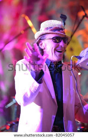 SACRAMENTO, CA - JULY 29: Fee Waybill of The Tubes performs at Thunder Valley Casino and Resort in Lincoln, California on July 29, 2011