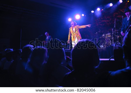 SACRAMENTO, CA - JULY 29: The Tubes perform at Thunder Valley Casino and Resort in Lincoln, California on July 29, 2011