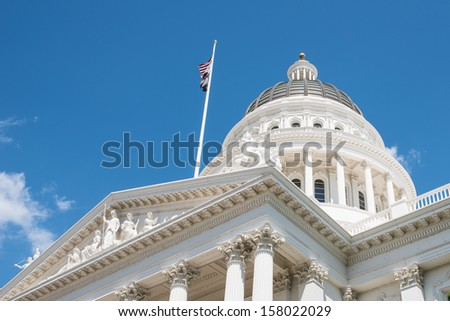 Sacramento California State Capitol - stock photo