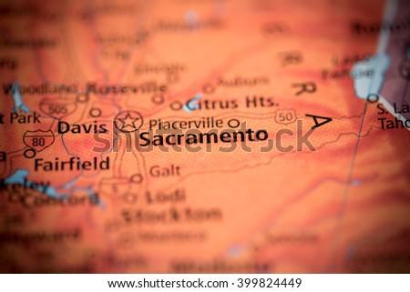Sacramento. California. USA - stock photo