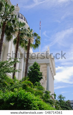 Sacramento Capitol Building in California - stock photo