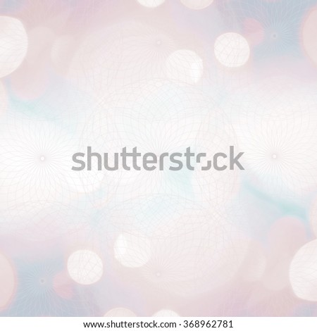 Sacred geometry abstract symbol over light background