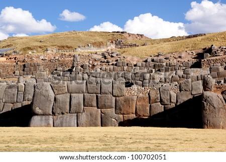 Sacsayhuaman, Cusco, Peru - stock photo