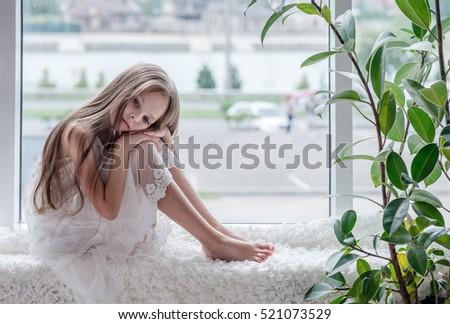 Sad Girl Sitting Alone Crying
