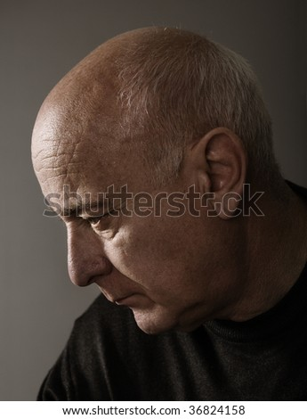 Sad memoirs - stock photo