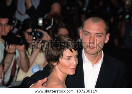 Sadie Frost and Jude Law at world premiere of AI Artificial Intelligence, NY 6/26/2001