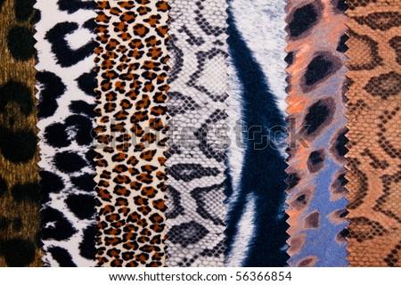 Safari fabric texture background. - stock photo